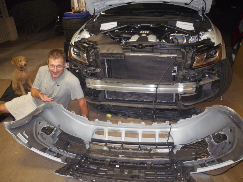 DIY: SQ5 Front Bumper Removal